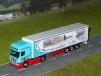 Scania R09 TL Gardinenplanensattelzug