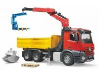 MB Arocs Baustellen LKW mit Kran