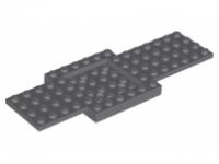 LEGO® 4259901 6x16 Fahrzeugplatte mit 4x4 Ausschnitt Dunkelgrau