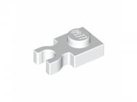 LEGO® 408501 Platte 1x1 mit vertikalem Clip Weiss