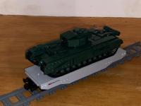 SBB Wagen mit Leopard Panzer