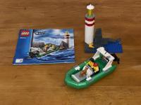 LEGO® 60014 Schlauchboot bei Leuchtturm