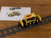 LEGO® Containerwagen gelb